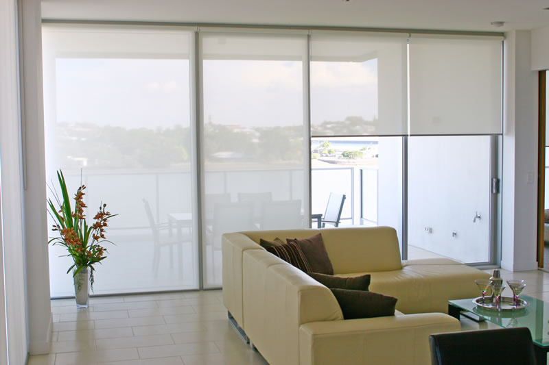 Gallery For Sunscreen And Blockout Roller Blinds